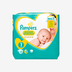 Image of Pampers PREMIUM PROTECTION 23 Windeln