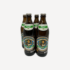 Image of Augustiner Hell 0,5l 4er Pack inkl. Pfand