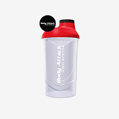 Image of PROTEIN – SHAKER 600ML TRANSPARENT
